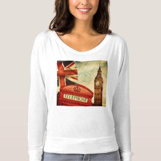 Cabine téléphonique rouge et Big Ben à Londres, T-shirt