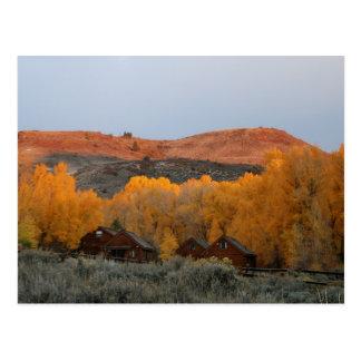 Cabines bleus de MESA du Colorado en carte postale