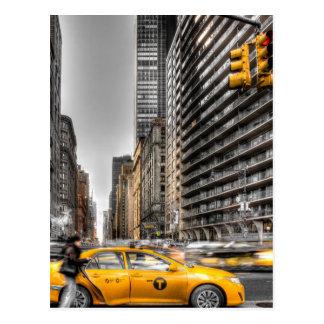 Cabines de New York City Central Park Cartes Postales