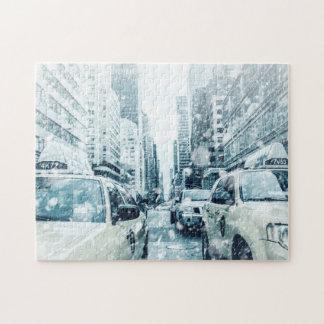 Cabines de New York City Puzzle