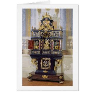 Cabinet de l'Electress Palatine, c.1704 (bois Carte De Vœux