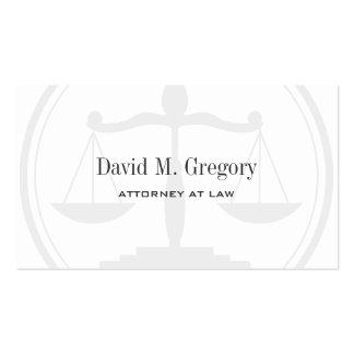 Cabinet juridique professionnel simple d avocat de carte de visite