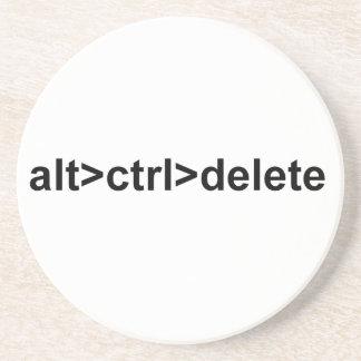 caboteur d'alt>ctrl>delete dessous de verre