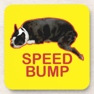 Caboteur de bosse de vitesse de Boston Terrier Sous-bock
