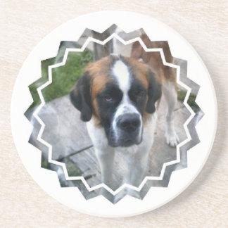 Caboteur de chien de photo de St Bernard Dessous De Verre