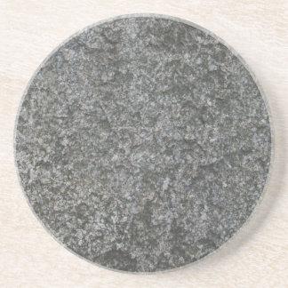 Caboteur en pierre gris de boisson de Faux Dessous De Verre