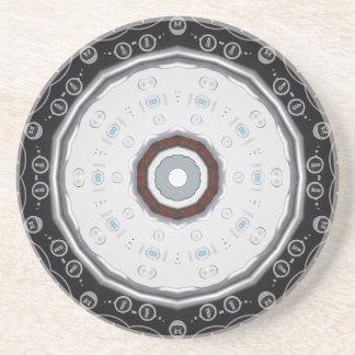 Caboteur-Kaléidoscope à télécommande de grès Dessous De Verres