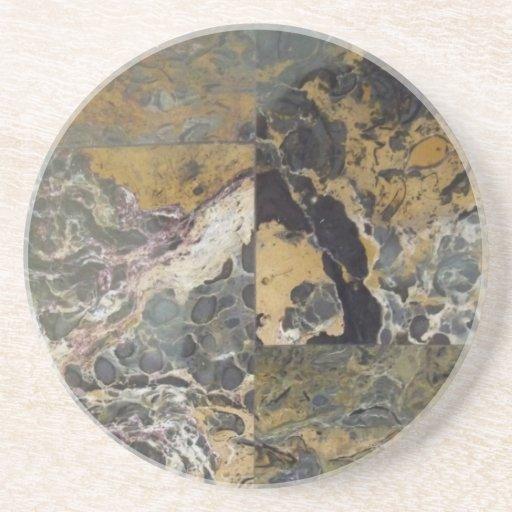 Caboteur - pierre naturelle 2 dessous de verre
