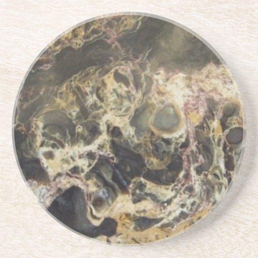 Caboteur - pierre naturelle 3 dessous de verre