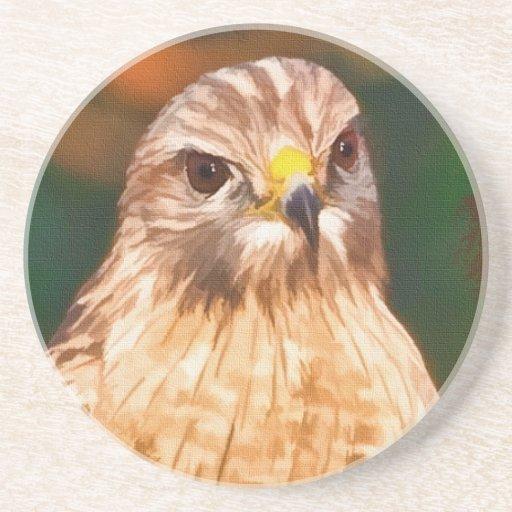 caboteur Rouge-épaulé de faucon Dessous De Verres