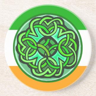 Caboteurs celtiques dessous de verre en grès
