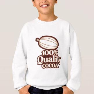 Cacao 100% de qualité sweatshirt