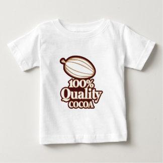 Cacao 100% de qualité t-shirt pour bébé