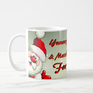 Cacao délicieux pour la tasse de Père Noël