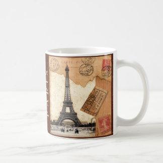 Cachet de la poste de Paris Mug