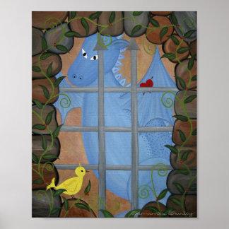 Cachots et dragons - les garçons d'oiseau de la posters