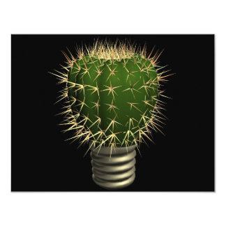 Cactus abstrait faire-parts
