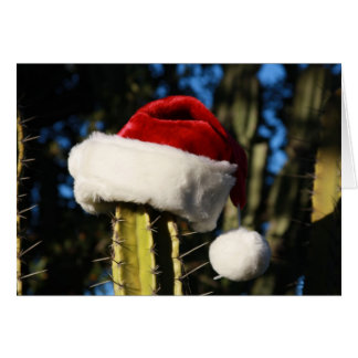 Cactus de Joyeux Noël Carte De Vœux