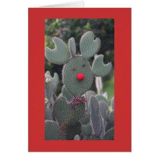 Cactus de Rudolph Carte De Vœux
