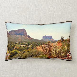 Cactus de Sedona et coussin lombaire de roche
