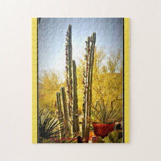 Cactus de tuyau de fourneau dans le puzzle de