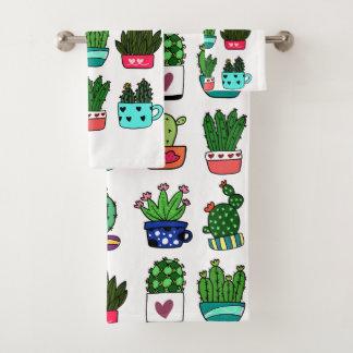 Cactus élégant moderne dans un ensemble de