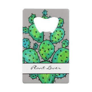 Cactus épineux d'aquarelle magnifique