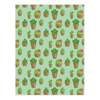 Cactus génial carte postale