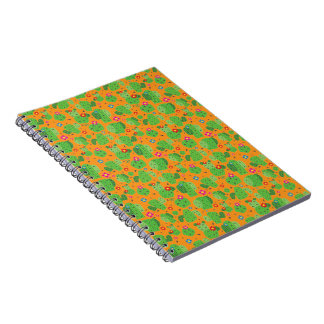 Cactus je carnet d'extérieur (orange) -