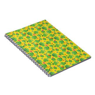 Cactus j'extérieur (jaune) - carnet