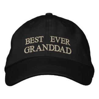 Cadeau brodé le meilleur jamais par grand-papa casquette brodée