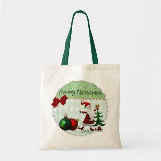 CADEAU classique de Noël de Whimsey Tote Bag