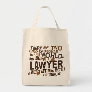 Cadeau d'avocat sacs de toile