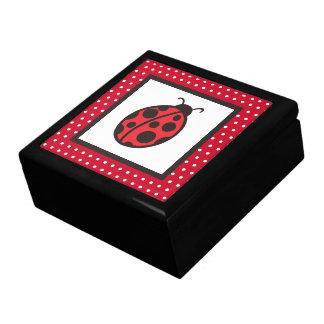 Cadeau de boîte à bijoux de la coccinelle de la