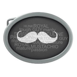 Cadeau de boucle de ceinture de moustache pour lui