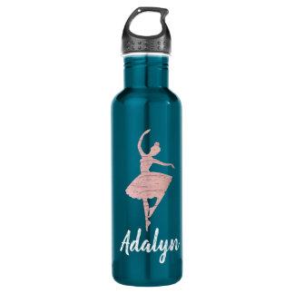 Cadeau de bouteille d'eau de danseur pour l'or