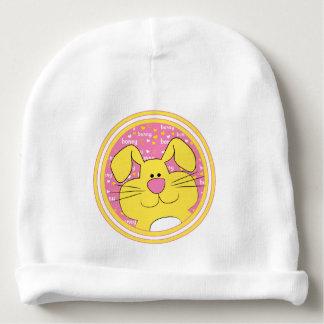 Cadeau de calotte de bébé/lapin/rose/jaune de miel bonnet de bébé