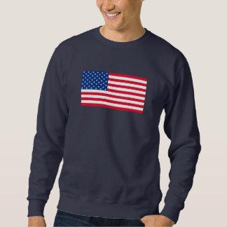 Cadeau de chemise de sweatshirt du drapeau