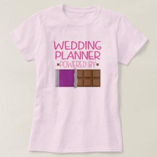 Cadeau de chocolat de wedding planner pour elle t-shirt