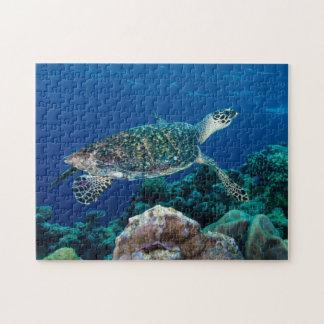 Cadeau de corail de la Grande barrière de corail Puzzle