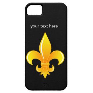 Cadeau de cru de cas de l iPhone 5 de Fleur de lis Coque Case-Mate iPhone 5