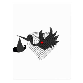 b b et cigogne cartes postales. Black Bedroom Furniture Sets. Home Design Ideas