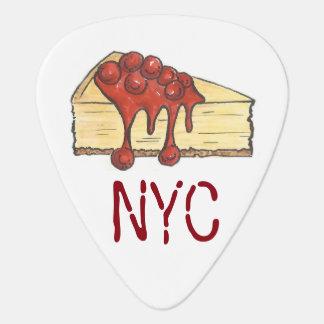 Cadeau de fin gourmet de gâteau au fromage de onglet de guitare