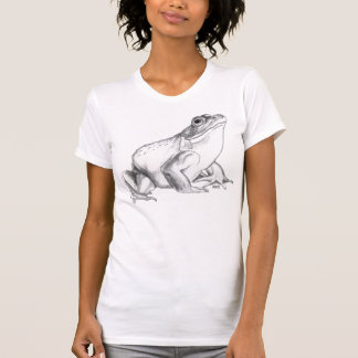 Cadeau de grenouille de cool de T-shirt d'art de