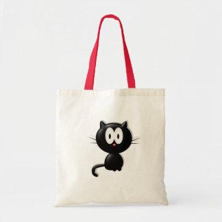 Cadeau de Halloween de chat de Scardy de chat noir Sacs En Toile