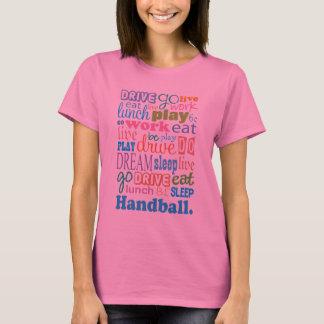 Cadeau de joueur de handball pour le T-shirt de