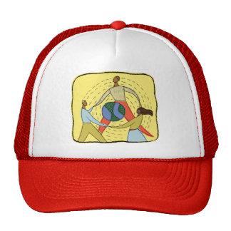 Cadeau de jour de la terre casquettes
