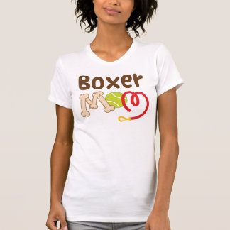 Cadeau de maman de boxeur (race de chien) t-shirt