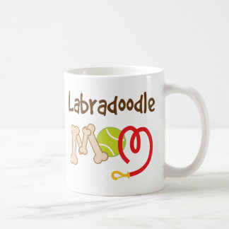 Cadeau de maman de race de chien de Labradoodle Mug