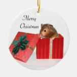 Cadeau de Noël de hamster Décoration Pour Sapin De Noël